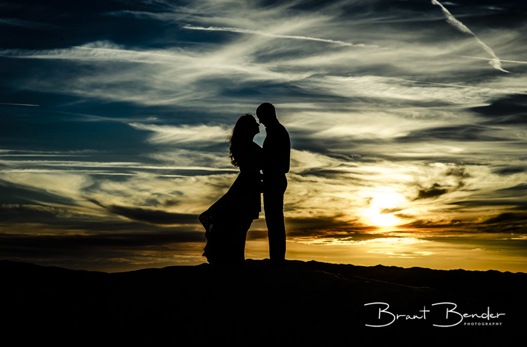 A Desert Engagement at the Glamis Dunes